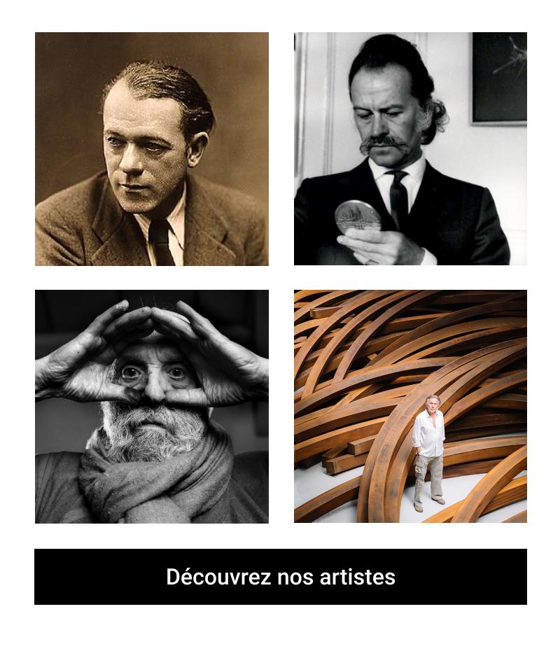 Artistes de la Galerie d'art à Neuilly sur Seine